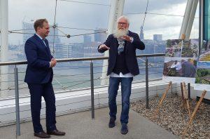 Jens Kerstan und John Langley