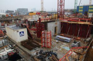Baustelle in der HafenCity