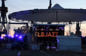 ELBJAZZ Festival auf dem Werfrgelände von Blohm + Voss