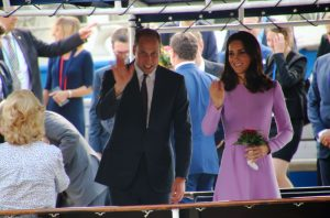Prinz William und Herzogin Kate in Hamburg