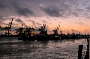 Sturm Hafen Hamburg