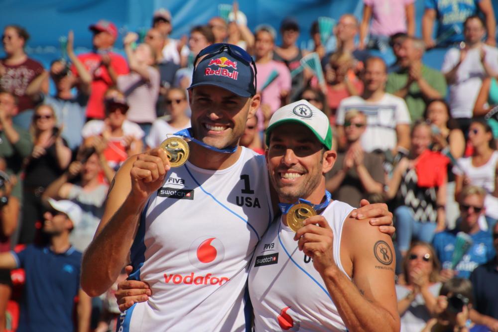 Phil Dahlhausser und Nick Lucena