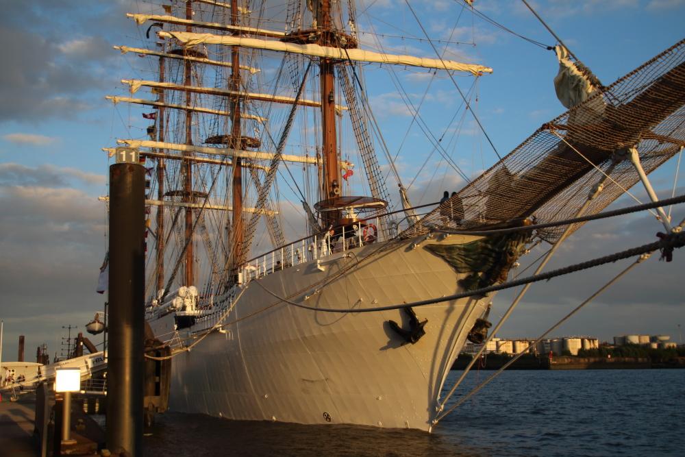 Das peruanische Segelschulschiff UNION