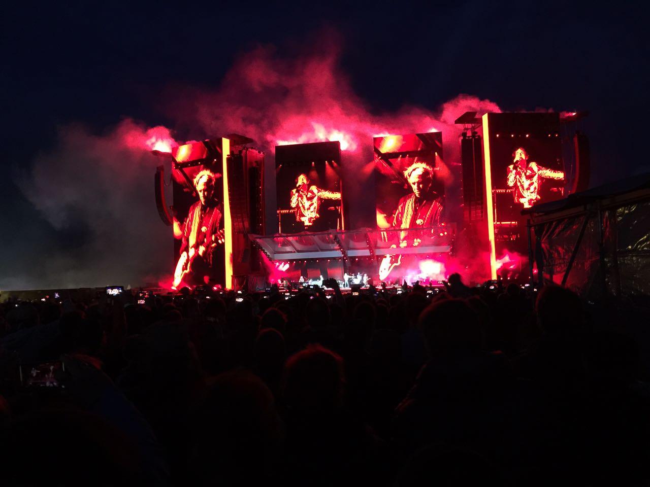 """Rolling Stones eröffnen """"No Filter"""" Europatour im Hamburger Stadtpark"""