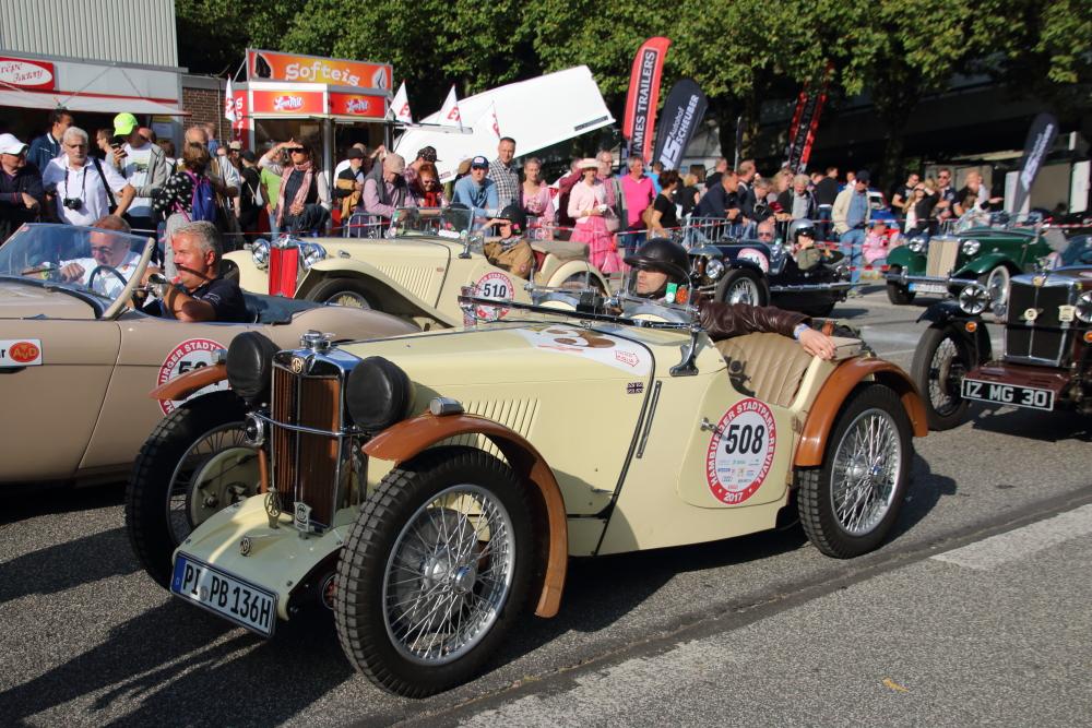Stadtpark Revival - Oldtimer Rallye
