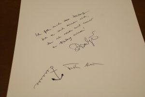 Fatih Akin_und Diane Krugers Eintrag