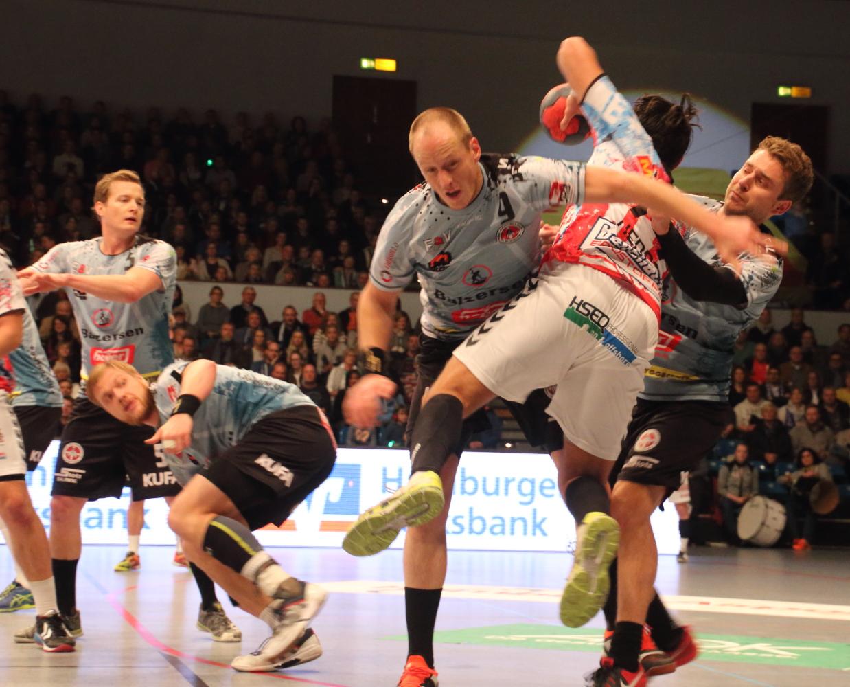HSV vs DHK Flensborg
