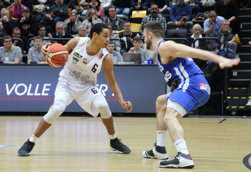 Anthony Canty - Hamburg Towers vs Karlsruhe Lions