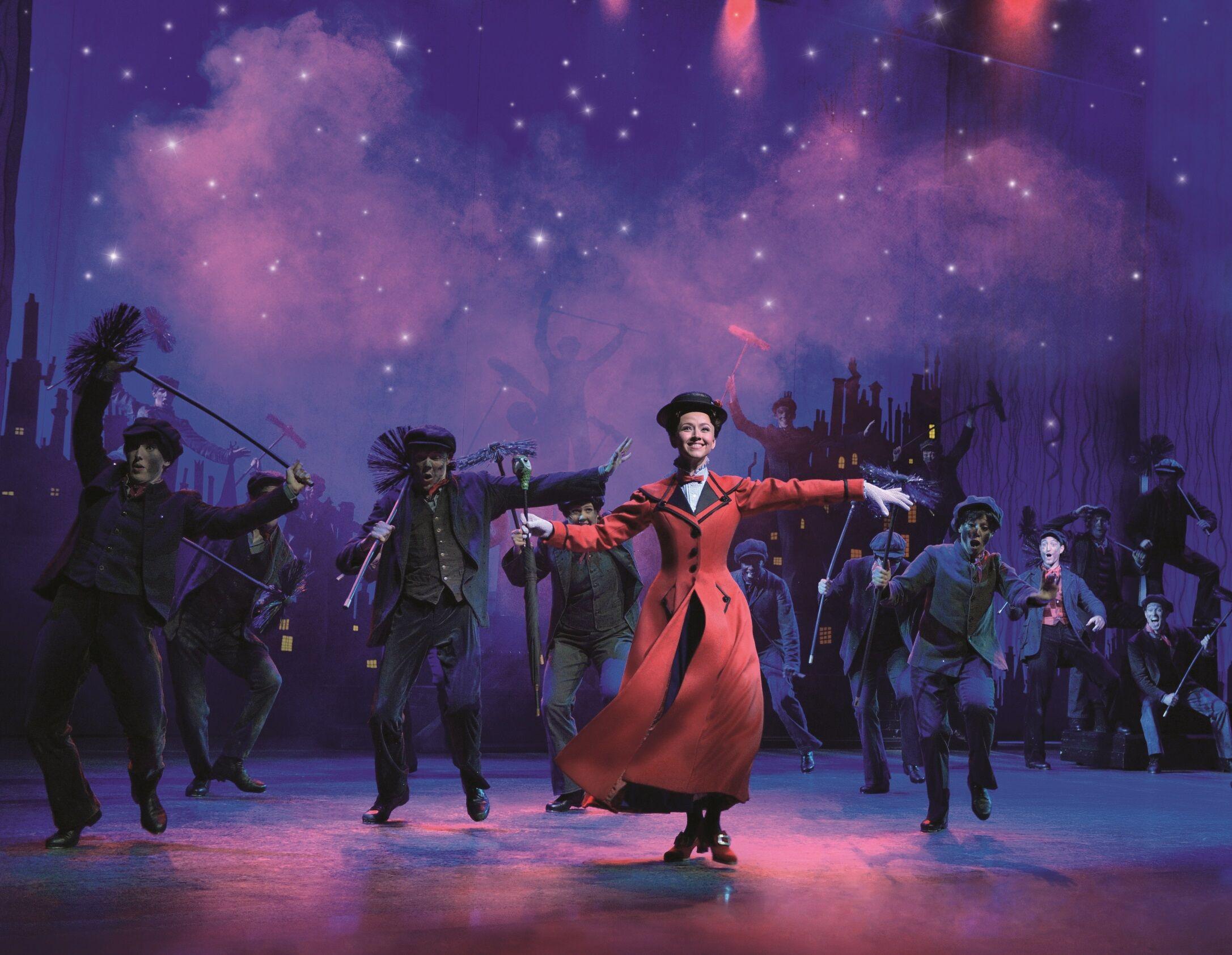 Szenenmotiv aus dem Musical Mary Poppins