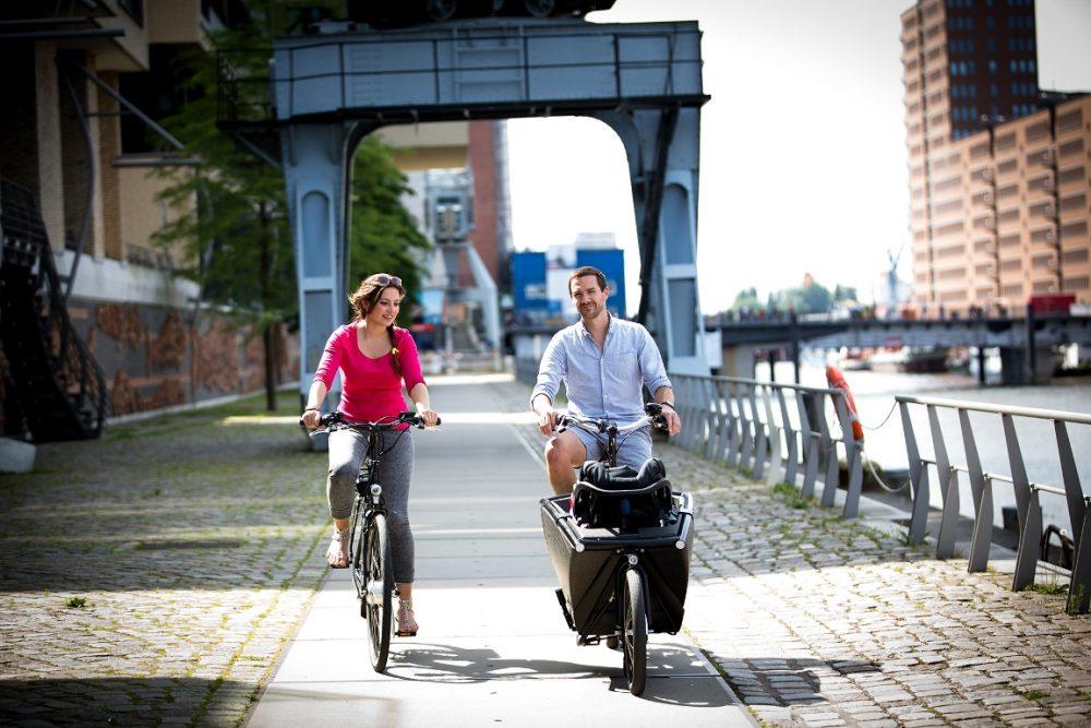 E-Bike-Verleih ERFAHRE Hamburg