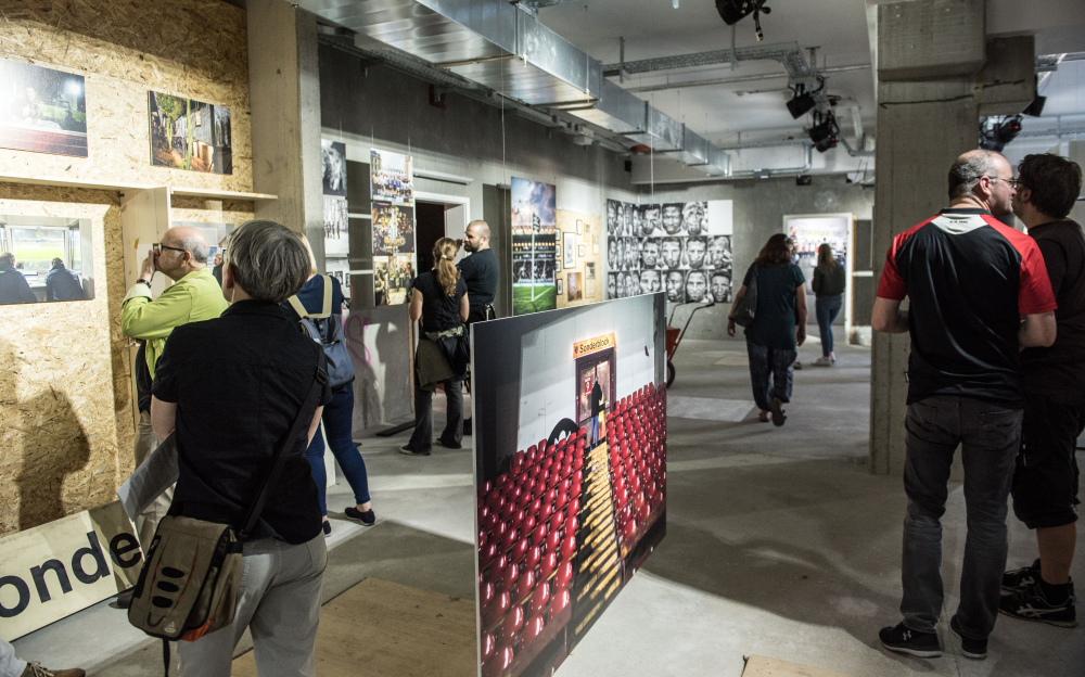 2017 Foto-Ausstellung Thorsten Baering im FC St Pauli-Museum 2 (Foto Sabrina Adeline Nagel)