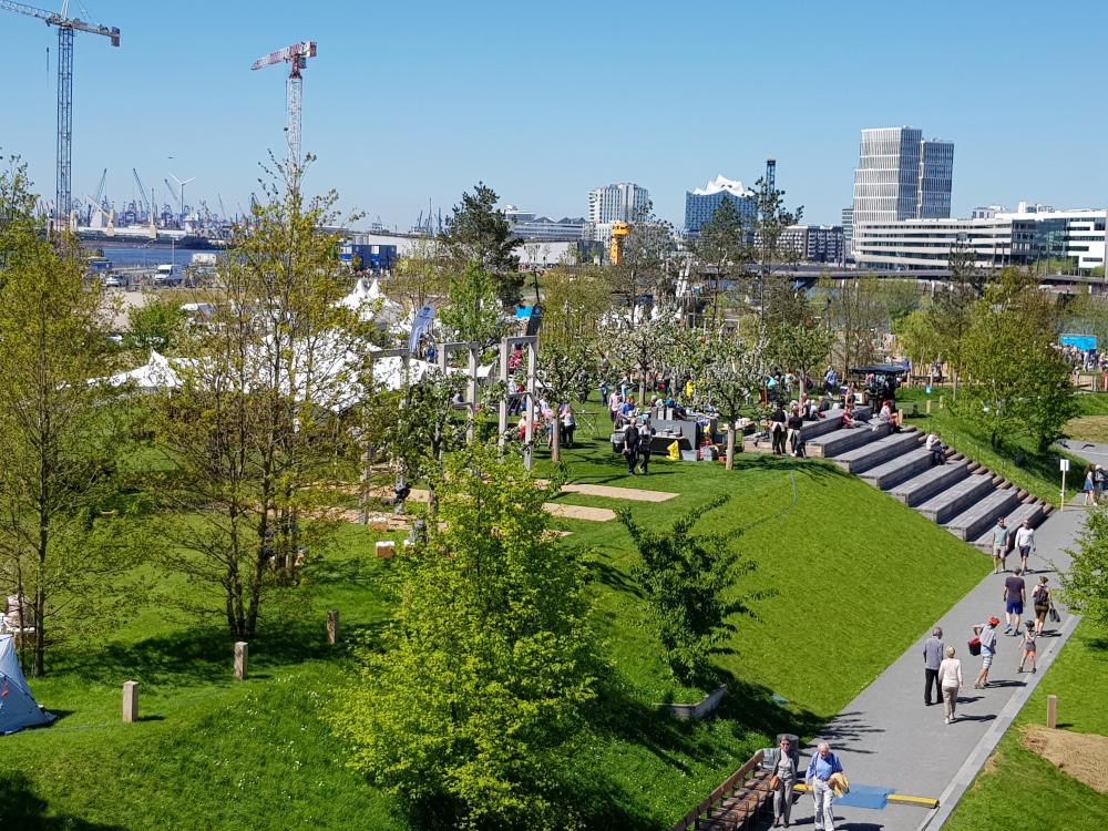 Eröffnungsfeier Baakenpark