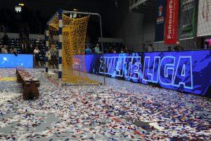 HSV Hamburg feiert den Aufstieg in die 2. Liga