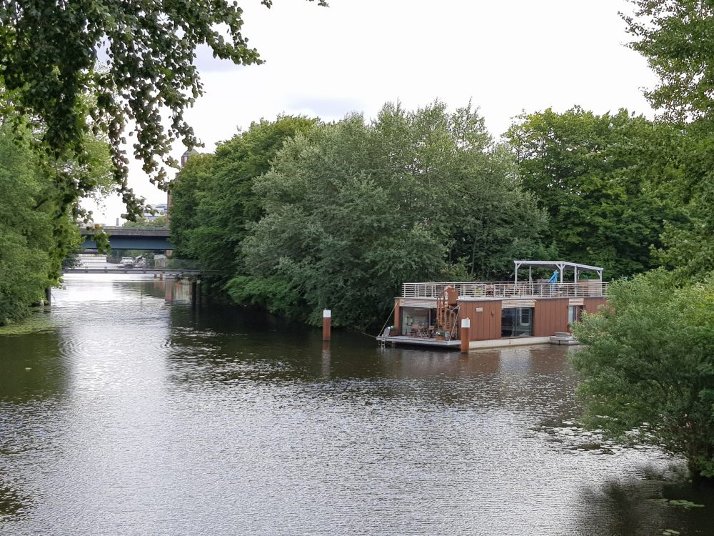 Hausboot Rothenburgsort