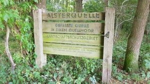 Zugang zur Alsterquelle