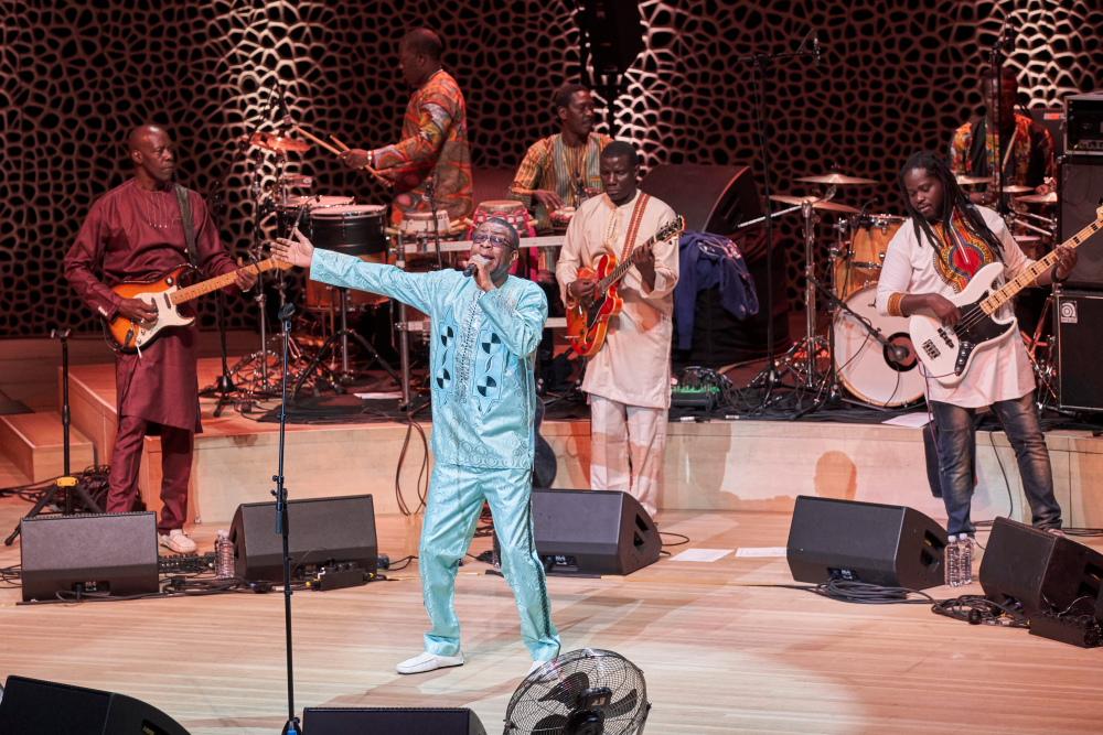 Youssou Ndour und Le super etoile de Dakar, Elbphilharmonie Großer Saal 27.08.2018