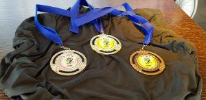 Die begehrten Medaillen für die Rollstuhlbasketball WM