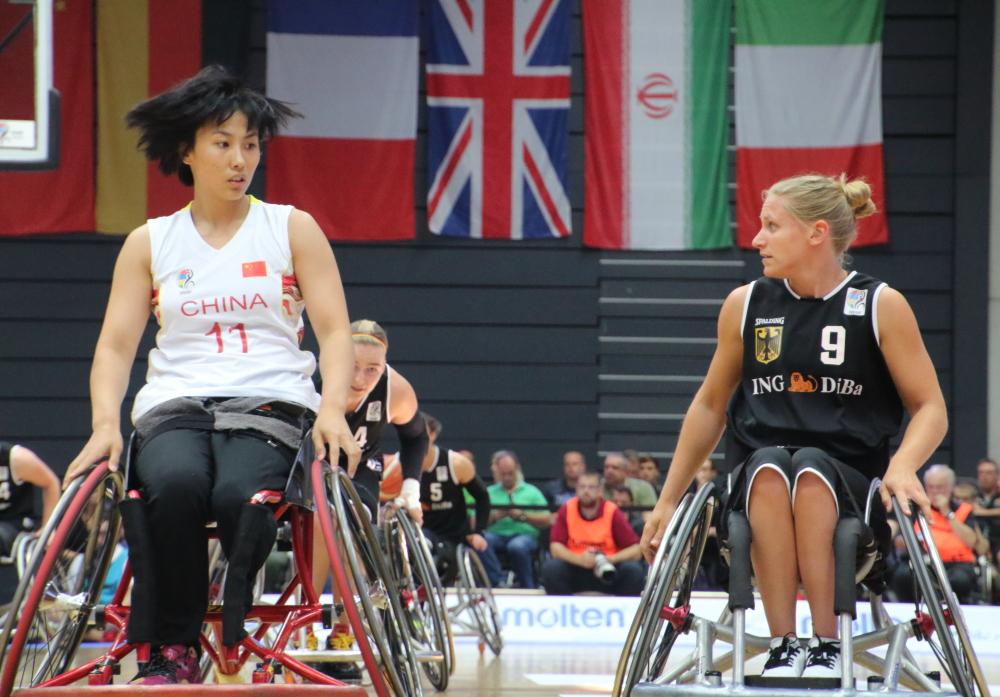 Rollstuhlbasketball WM: China vs Deutschland
