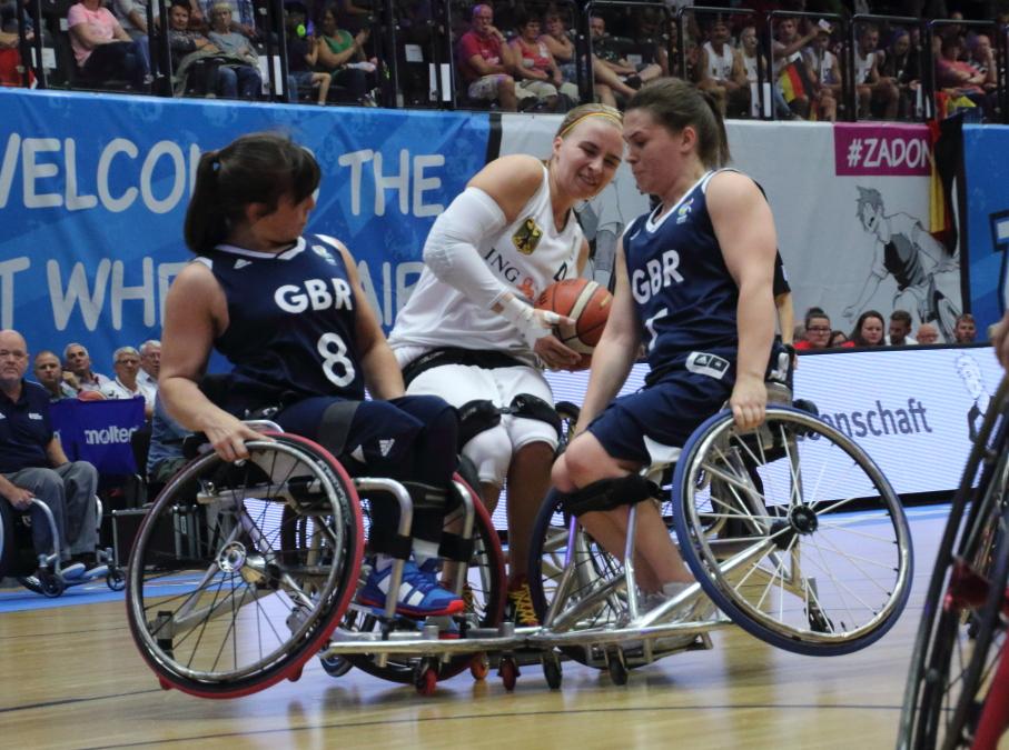 Rollstuhlbasketball WM Halbfinale: Deutschland vs Großbritannien