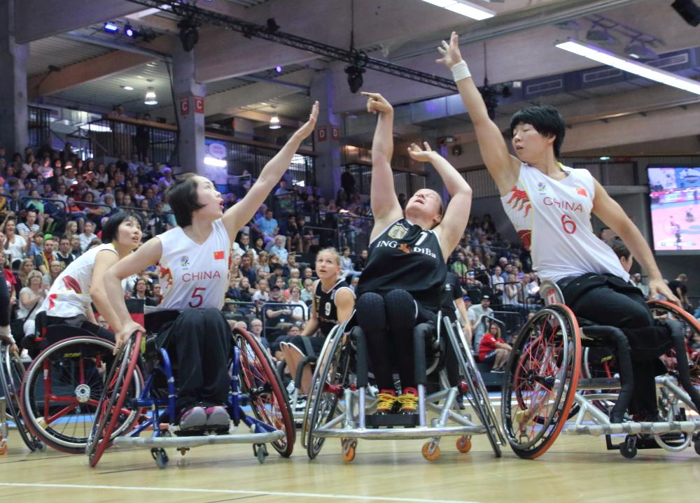Rollstuhlbasketball: Deutschland vs China