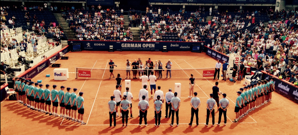 Siegerehrung Doppelfinale German Open