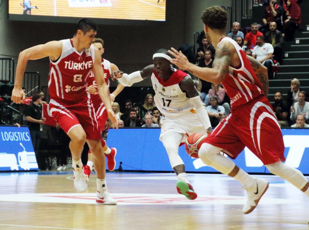 Deutschland vs Türkei beim Basketball Supercup 2018