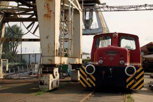 Hafenbahn im Hafenmuseum
