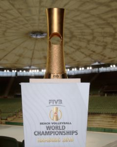 Beach Volleyball World Championship Pokal