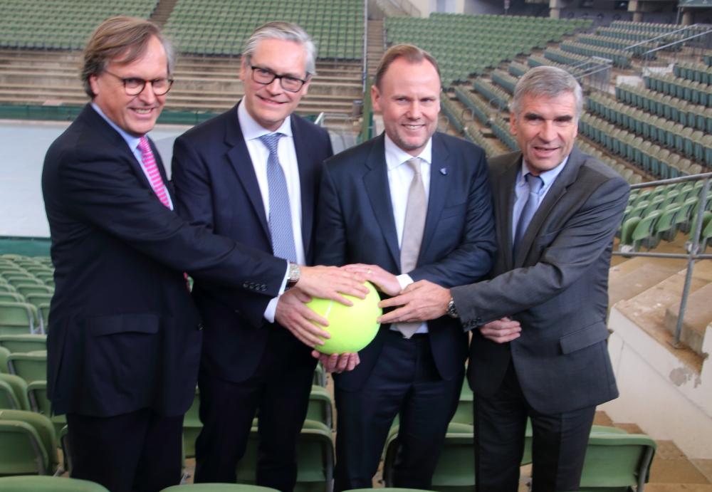Carsten Lütten, Alexander Otto, Andy Grote und Ulrich Klaus