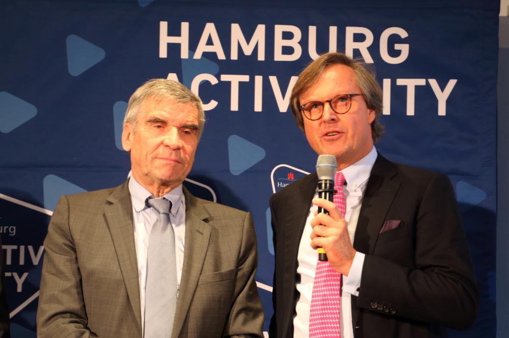 Ulrich Klaus und Dr. Carsten Lütten