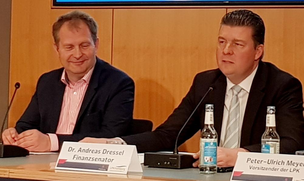 Jens Kerstan und Dr. Andreas Dressel