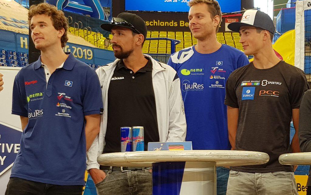 Lars Flüggen, Jonathan Erdman,, Nils Ehlers, Sven Winter