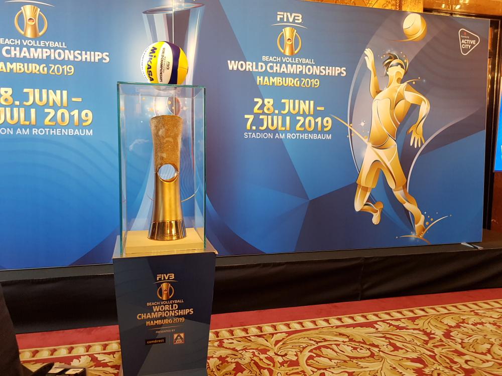 Der FIVB Beach-Volleyball WM Pokal