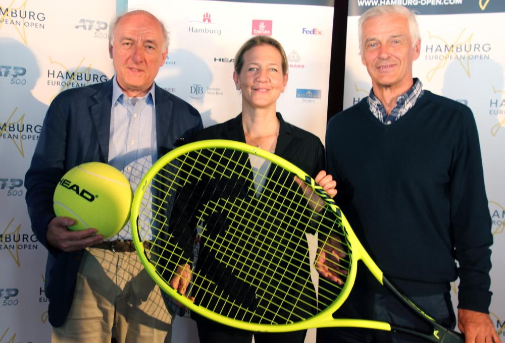 v.l.: Peter-Michael Reichel, Sandra Reichel und Klaus Eberhard