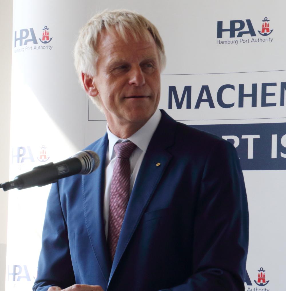 HPA CEO Jens Meier