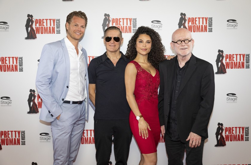 Mark Seibert, Bryan Adams, Patricia Meeden, Jim Vallance, Foto © Morris Mac Matzen