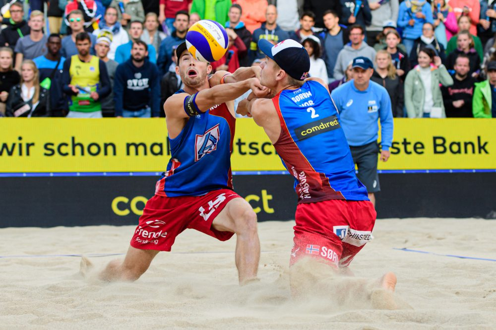 Anders Mol und Christian Sorum Foto: © FIVB