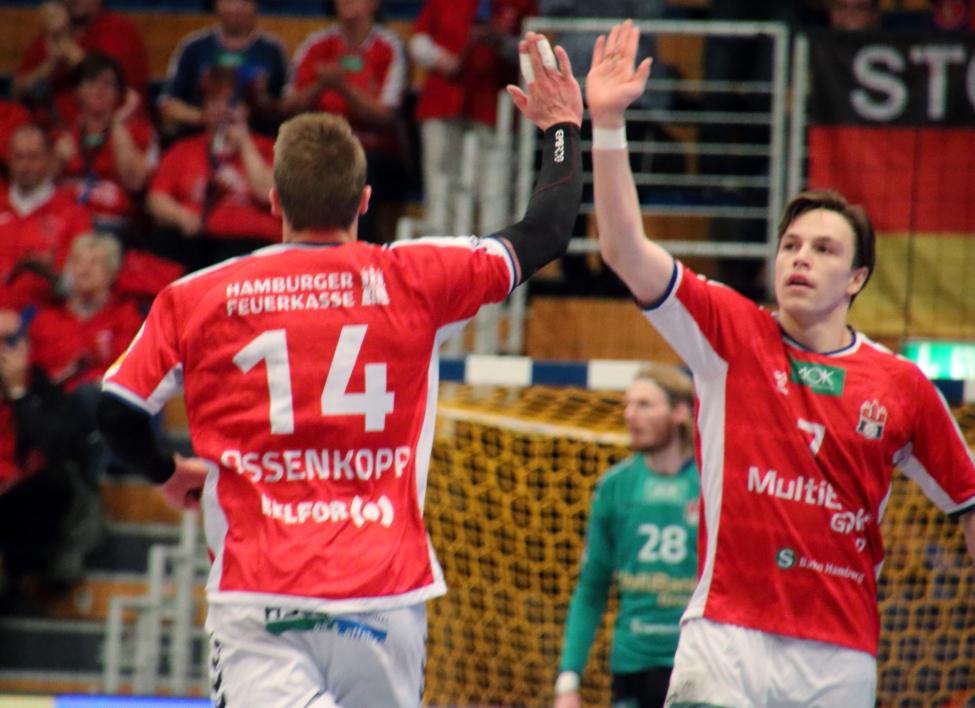 Lukas Ossenkopp und Leif Tissier
