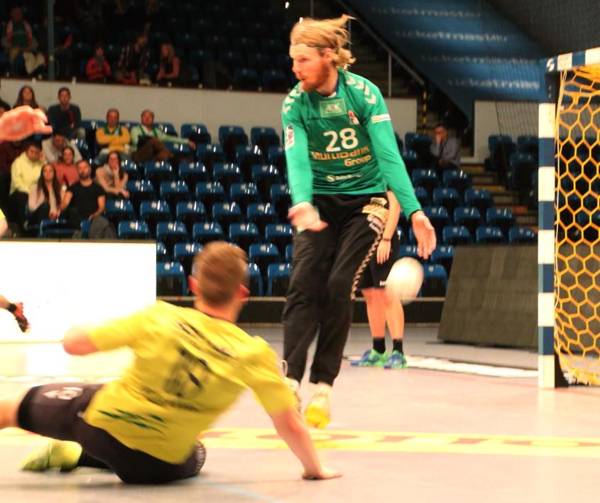 Aron Edvardsson hält den Vorsprung