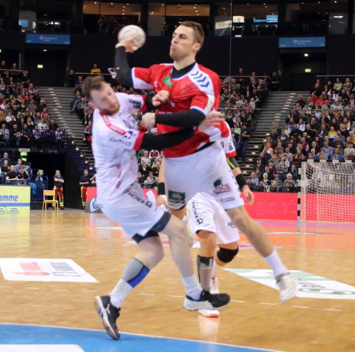 Lukas Ossenkopp hält sein Team im Spiel