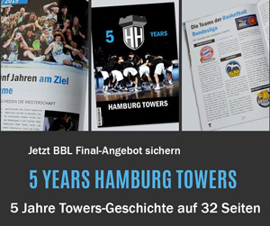 Anzeige 5 Years Hamburg Towers