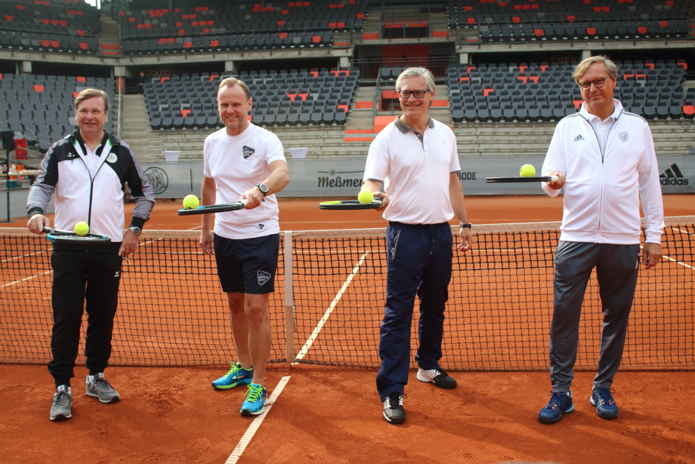 Hans-Wolfgang Kende, Andy Grote, Alexander Otto, Carsten Lütten