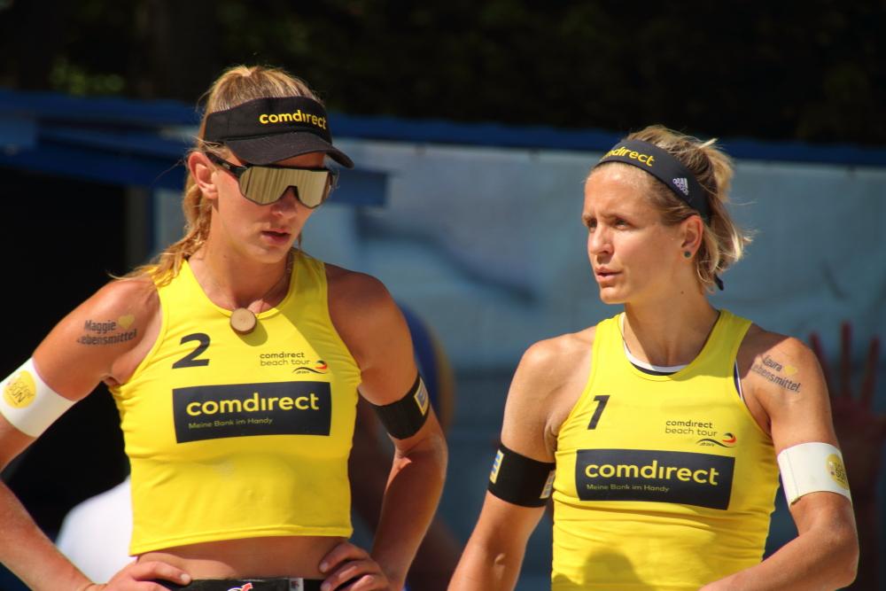 Maegareta Kozuch und Laura Ludwig