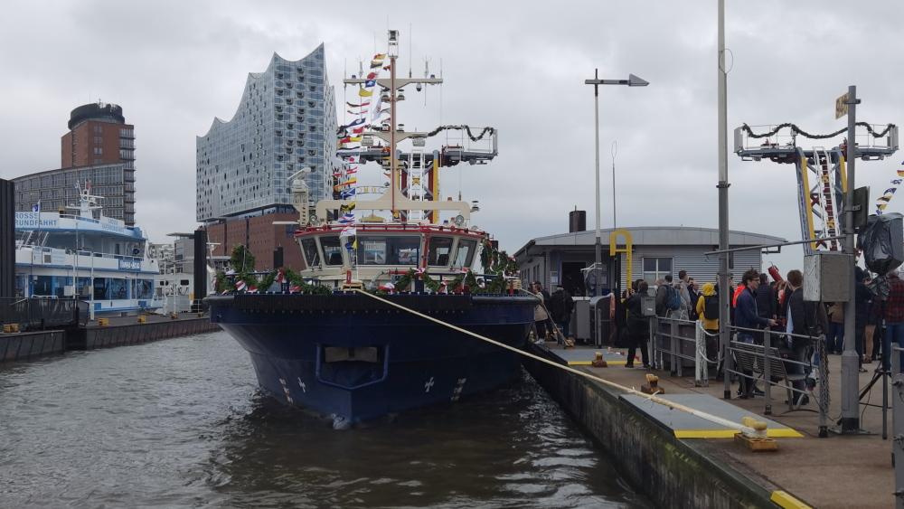 Taufe Feuerschiffe Dresden und Prag